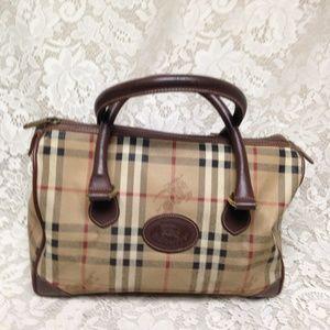 Burberry Nova Check Speedy  Hand-Shoulder Bag